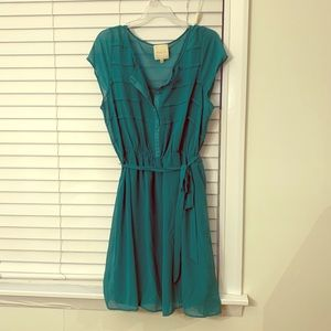 ModCloth sheer dress with liner